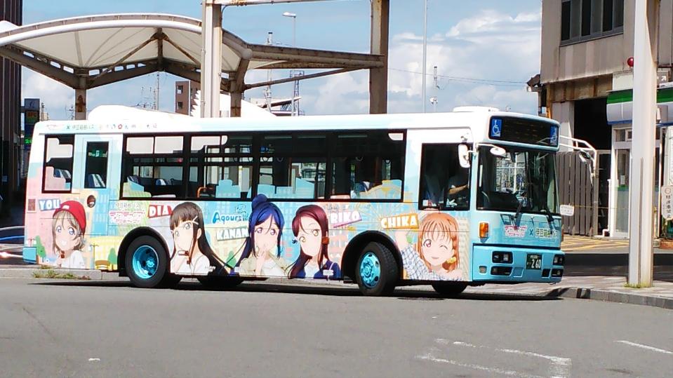 ラブライブサンシャイン・ラッピングバス