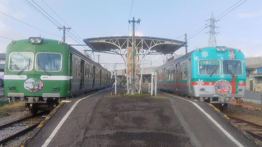 旧京王電鉄車両の並び
